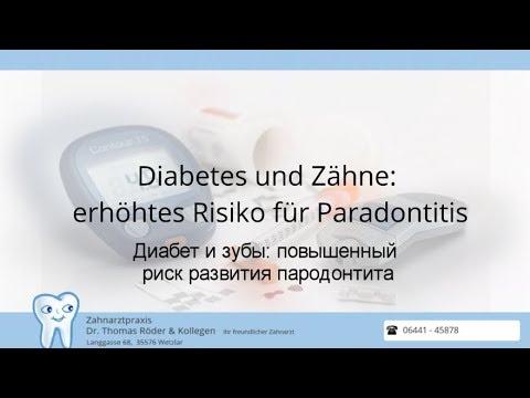 Диабет и зубы: повышенный риск развития пародонтита
