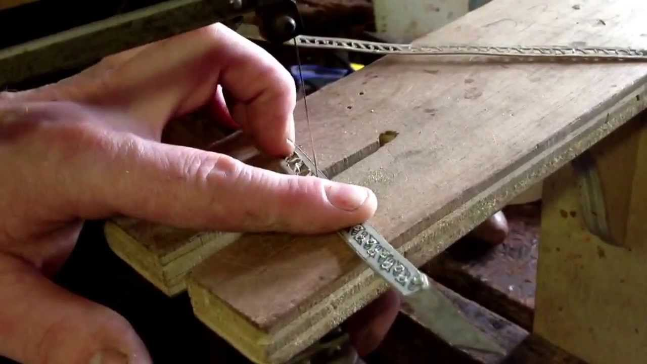 Fret Sawing Brass Inlay Strip