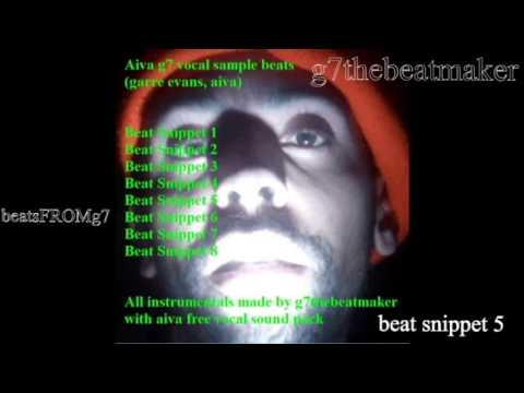 Aiva g7 vocal sample beats | FULL ALBUM w/ commentary