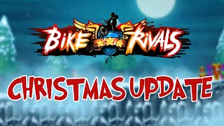 Bike Rivals: Christmas update trailer - iOS and Android gameplay