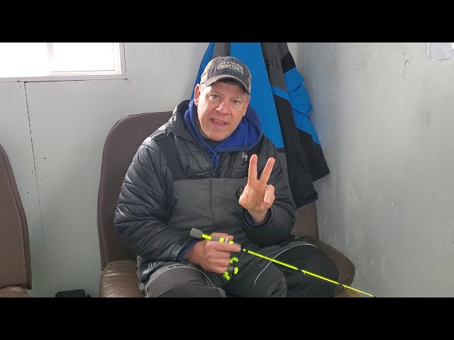 Ice Fishing...  The One - Two Punch