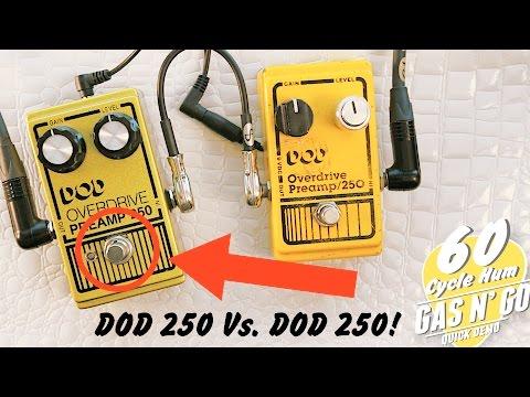 DOD 250 Vs. DOD 250