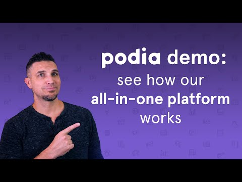 Podia demo: See how our all-in-one platform works