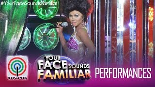 "Your Face Sounds Familiar: Melai Cantiveros as Shirley Bassey - ""Hey Big Spender"""