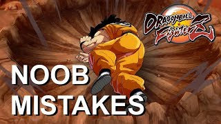 top 7 mistakes made by beginners in dragon ball fighterz