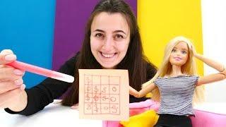 Sevcan Barbie ile SOS oyunu oynuyor. Çocuk videosu