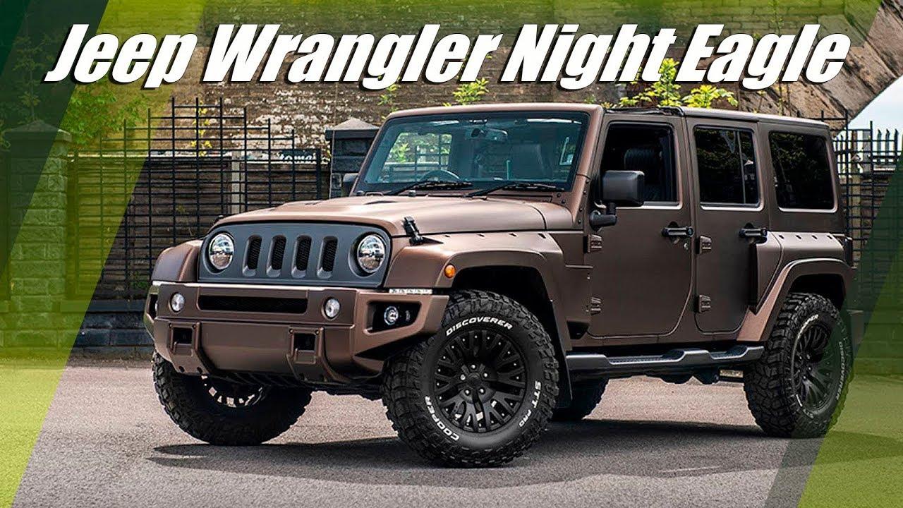Jeep Sahara Night Eagle 2020