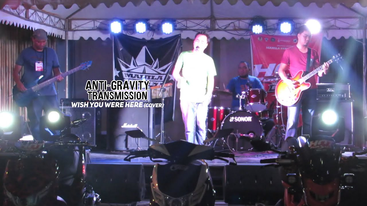 BICOL X | Anti-Gravity Transmission - Wish You Were Here (cover)
