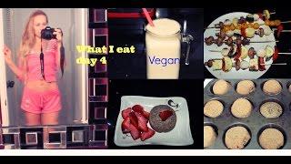 Что я ем* Чет-г* ШАШЛЫКИ?? Маковые маффины/ Косметика(Ребятки сегодня 4 день- четверг - мой видео дневник питания! Это питание - мой выбор! Растительное, веганское,..., 2014-11-14T03:46:07.000Z)