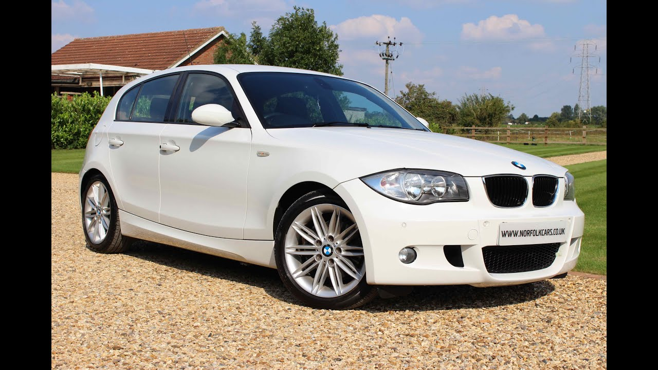 2007 BMW 120d M Sport white - YouTube