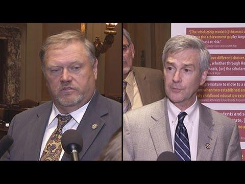Senate Leaders Flush Out Session End