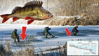 Как и где ловить окуня по первому льду на реке? Где искать окуня на течении в декабре по льду?