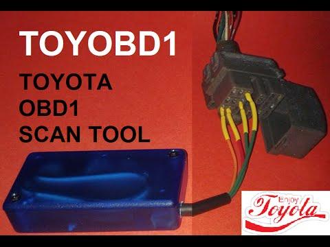 TOYOBD1 DEMO - OBD - OBD1 - SCAN TOOL - for Toyota