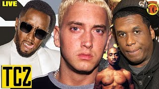 Eminem KILLSHOT WARNING towards Diddy over Tupac , and Jay Electronic Steps In
