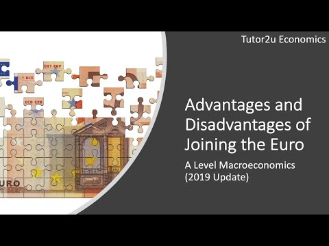 Advantages And Disadvantages Of Joining The Euro