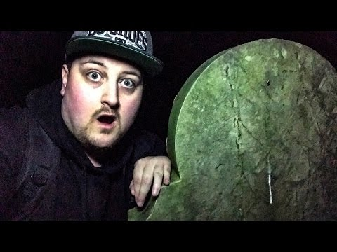 Ghost Hunting! Insane Paranormal Activity at Haunted Cemetery