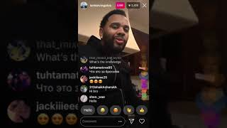 Kevin gates goes live with a gift for moneybaggyo