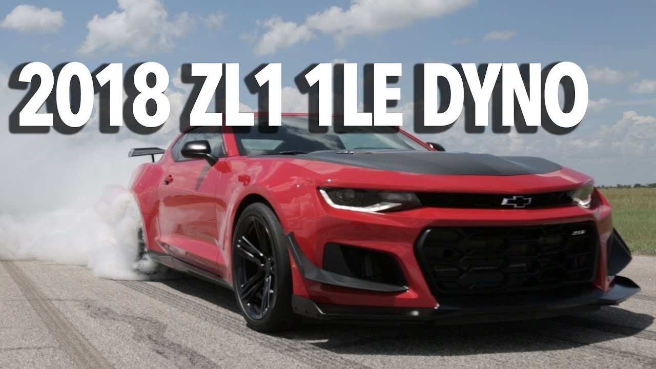 2018 Zl1 1le Camaro Dyno Testing Amp Burnout Youtube