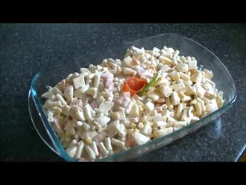 MACARONI SALAD *COOK WITH FAIZA*