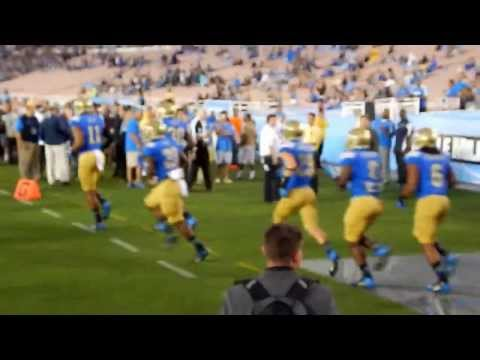 UCLA Bruins Football PreGame WarmUp 2013