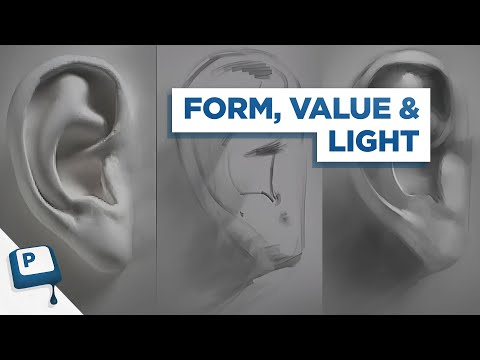 Shading with Light and Form in Your Digital Painting