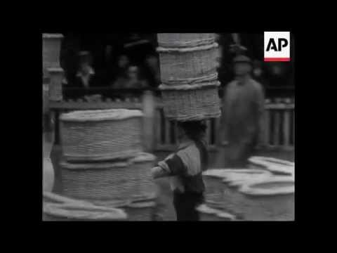 Fun footage of Borough Market sports event in 1937