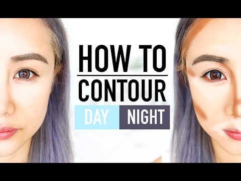 Beginners Contouring for Day & Night Tutorial ♥ No more daytime brown streaks ♥ Wengie