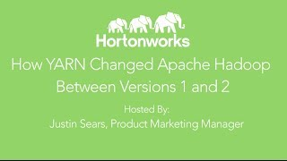 Apache Hadoop YARN: How YARN changed Hadoop from v1 to v2