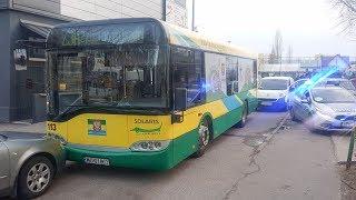 Ukradł autobus z zajezdni MZK i jeździł po Ostrołęce (KWP zs. w Radomiu)