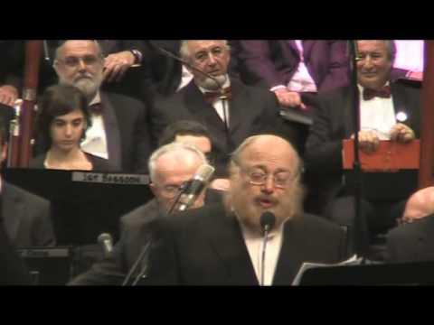 Cantors Zim&Adler&Rand&Lemmer Singing ZOl Shoin Kumen D'Geule