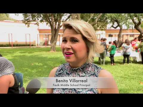 Faulk Middle School Volunteer Recognition