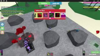 Roblox - Miners Haven Unluckiest Inferno Box Ouverture