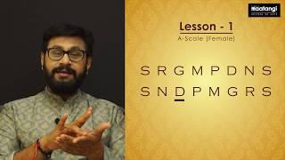 Nihal Maatangi School Saraliswaras- Lesson-1   Scale - A. 4-speeds