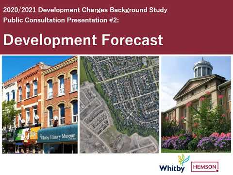 Presentation #2:  Development Forecast