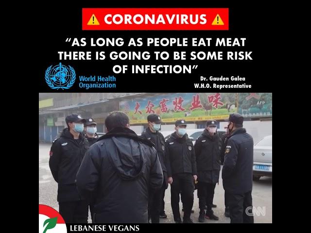 Coronavirus and meat