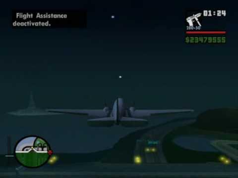 GTA San Andreas DC-3 mod (replaces nevada)
