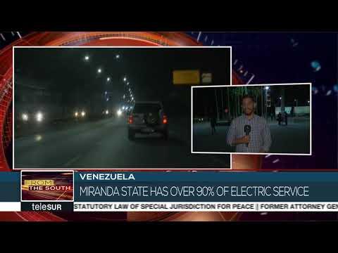 Venezuela: Electricity Back in Most Neighborhoods of Caracas