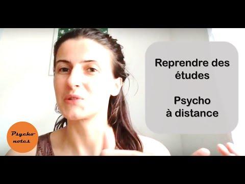 REPRENDRE DES ETUDES à Distance - Psychologie à La Fac