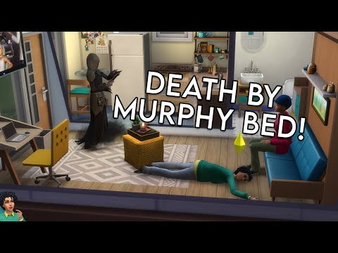 I Died Trying The New Sims 4 Tiny Living Stuff Pack! |