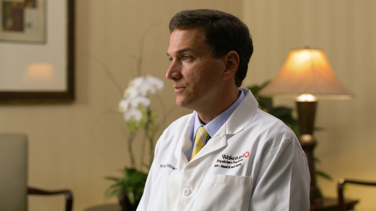 Dr  Nathan Calloway | WakeMed Physician Practices - ENT