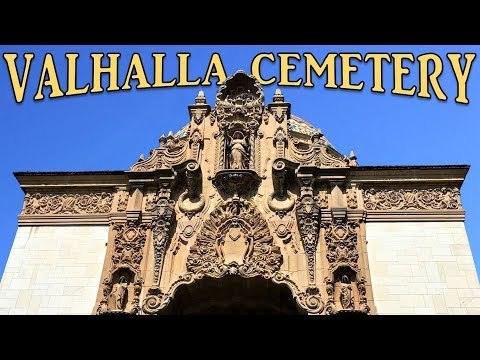 Exploring Valhalla Cemetery, North Hollywood, CA - Famous Actors And Aviators Graves