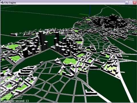Urban generator - Dynamic city procedural generation