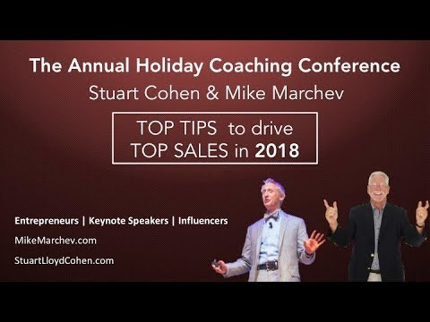 ANNUAL HOLIDAY BUSINESS COACHING CONFERENCE