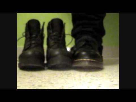 Dr Martens VS Black Timberland Boots!