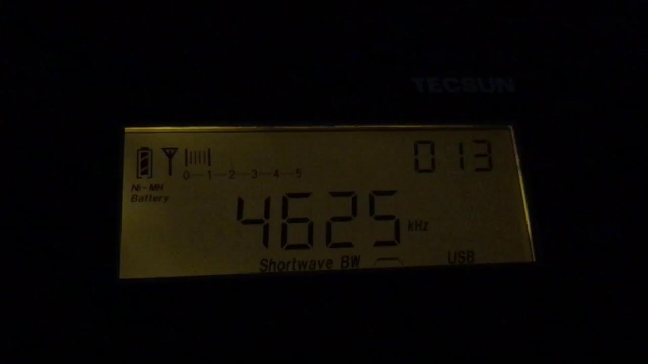 "Russian Military Numbers Station ZhUOZ aka ""The Buzzer"" @ 4625 kHz LSB - UK  - 7 1 2018"