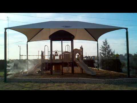 Playground Misting| Mist Cooling | Outdoor Cooling | Mistcooling | Misting Nozzles | Houston Texas