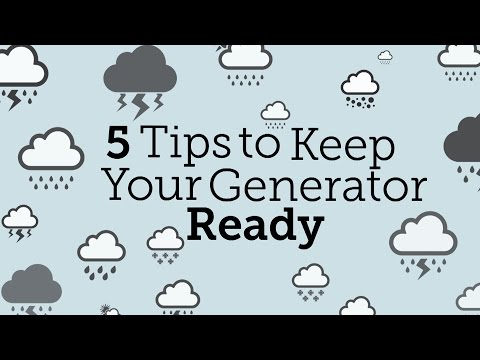 5 Tips to Keep Your Portable  Generator Ready | Consumer Rep