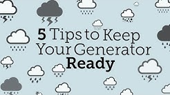 5 Tips to Keep Your Portable Generator Ready | Consumer Reports