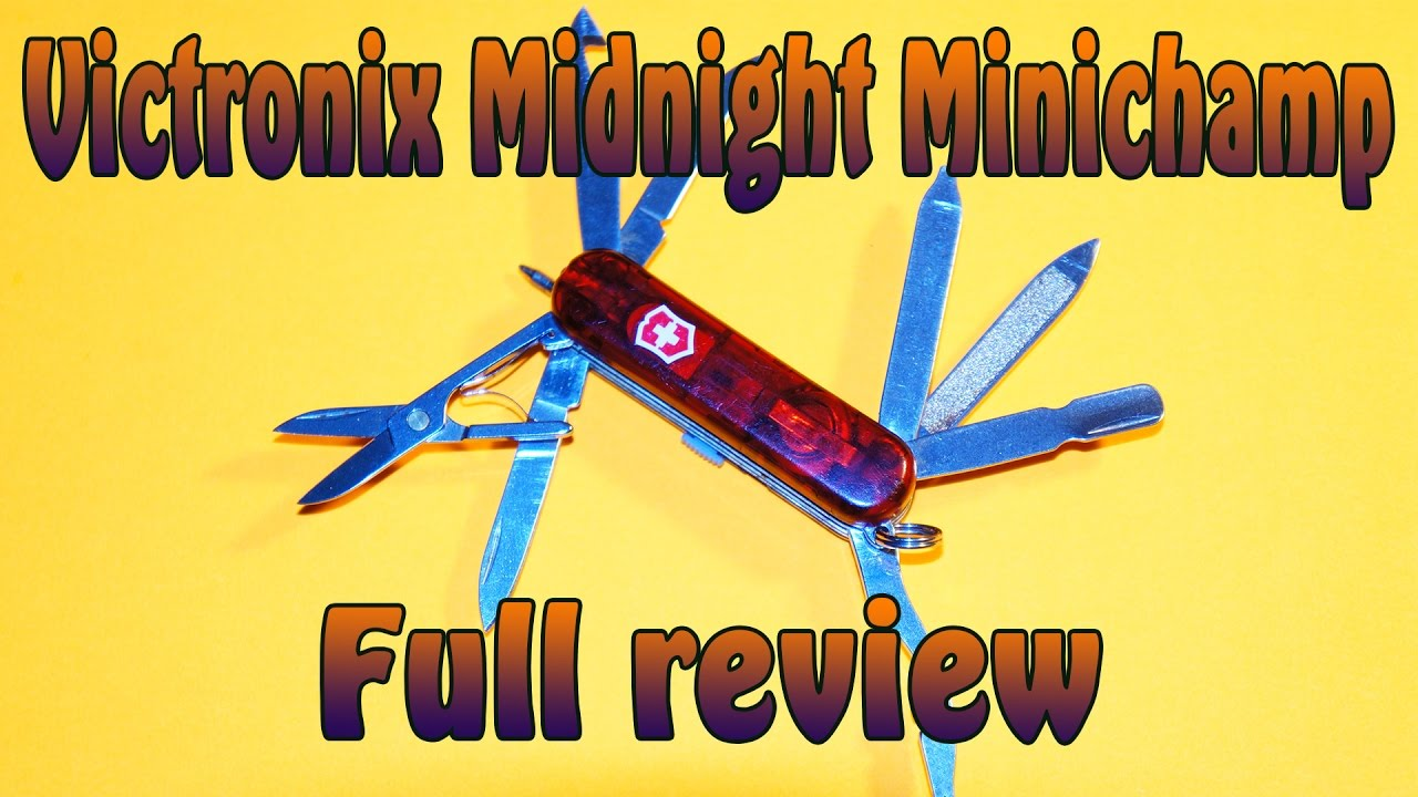 Product Review Victronics Midnight Minichamp Swiss