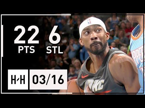 Corey Brewer Full Highlights Thunder vs Clippers (2018.03.16) - 22 Points, 6 Steals